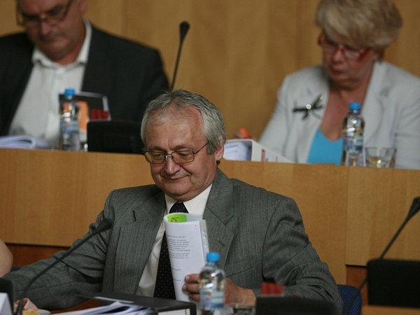 Tomeš Vytiska (KSČM), jihočeský krajský radní pro kulturu.
