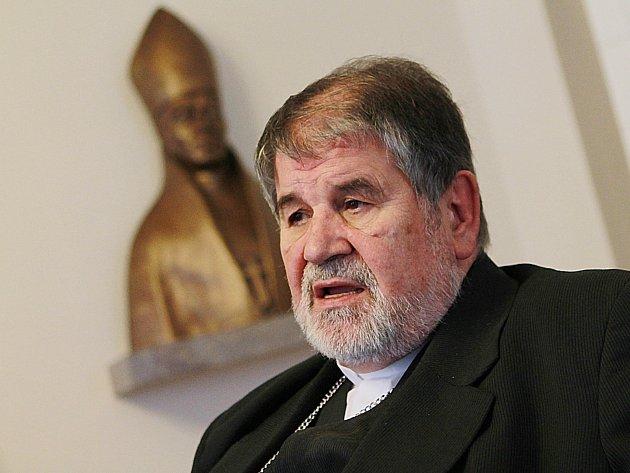 Českobudějovický biskup Jiří Paďour.