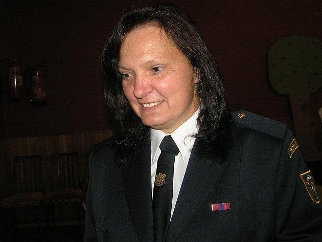 POŽÁRNICE. Jiřina Gramanová z Roudného u Českých Budějovic je členkou sboru dobrovolných hasičů osm let.