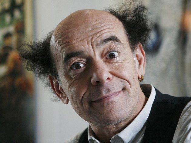 Italský klaun Paolo Nani.