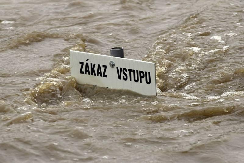 Povodně 2002  na Českobudějovicku.