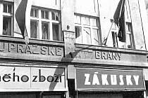 KDYSI: Dům u Pražské brány v roce 1978.