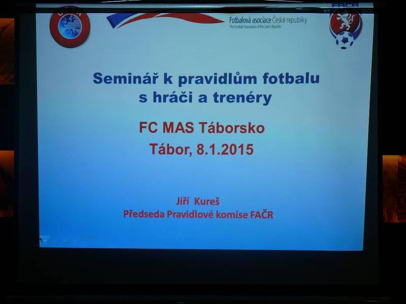 Seminář pro trenéry v Táboře