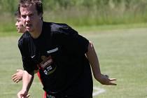 Miroslav Herman (SK Mladé) si vyzkoušel čtvrtou třídu během hostování ve Zborově.