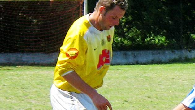 Jindřich Šefčík hrává na Platan Cupu za Fotbalovou radost.