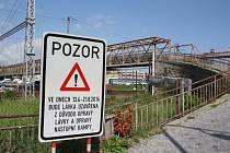 Už v pondělí začne více než dvouměsíční rekonstrukce lávky do Suchého Vrbného.