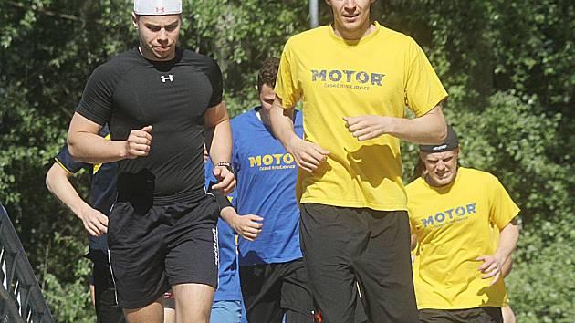 Hokejisté ČEZ Motoru zahájili letní přípravu.