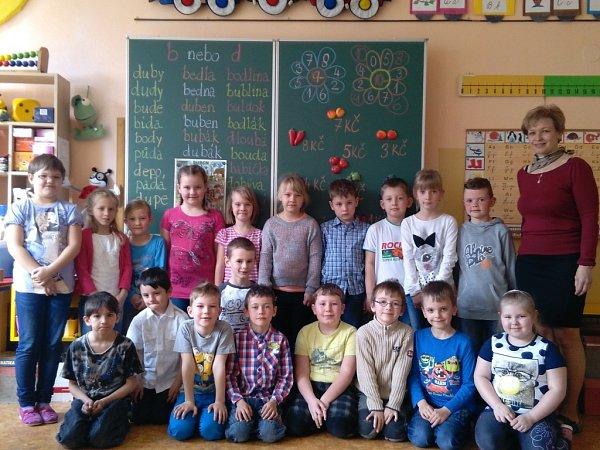 Základní škola vDolním Bukovsku.