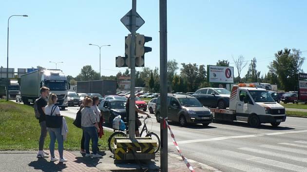 Křižovatku ulice Na Dlouhé louce a Husovy třídy v Českých Budějovicích čeká rekonstrukce.