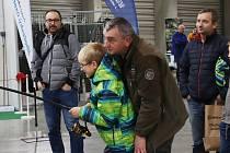 Jihočeská rybářská výstava na českobudějovickém výstavišti.