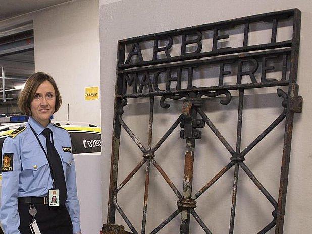 Brána koncentračního tábora se našla vNorsku.