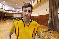 Talentovaný Jihočech se chystá na badmintonovou sezonu.