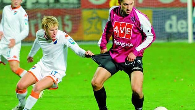 Václav Mrkvička dal v neděli důležitý gól.