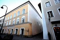 Dům, v němž se narodil Adolf Hitler.