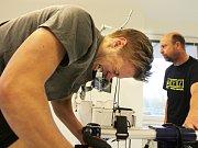 Petr Kváča se při vstupních testech vydal úplně na maximum.