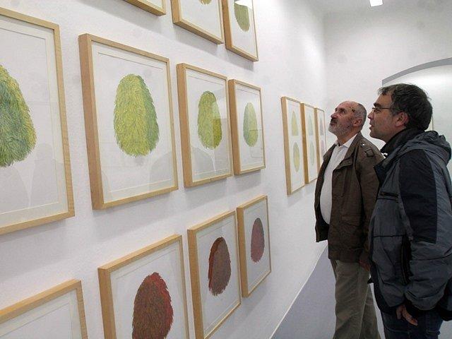 Výstava v českobudějovickém Domě umění, který představuje 'průzkumné' dílo Františka Lesáka.