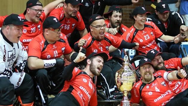Tatran Střešovice se stal mistrem florbalové ligy vozíčkářů