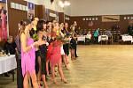 Tibor Stano s manželkou Lucií se v sobotu blýskli na čtyřicátém ročníku taneční soutěže Novohradská číše.