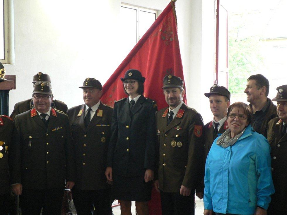 Oslavy výročí SDH Římov.