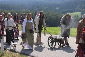 V Nových Hradech slavili v sobotu 740 let od první zmínky o obci.
