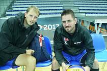 Radek Mach (vlevo) a Martin Kryštof.