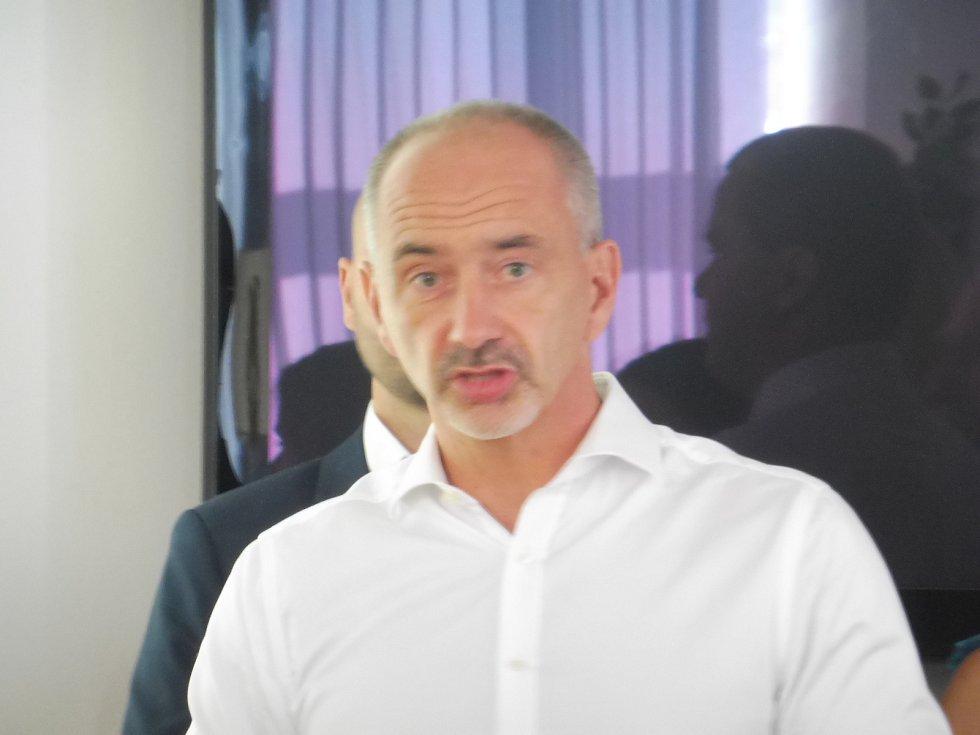 Lídr ODS Martin Kuba.