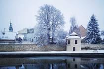 Středeční sněžení vykouzlilo v Budějovicích pravou zimní atmosféru.