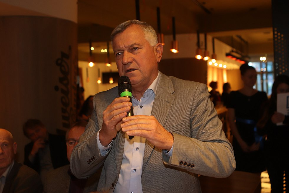 Setkání s jihočeskou hejtmankou Ivanou Stráskou.