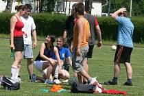 Ve středu pořádala Zemědělská fakulta Jihočeské univerzity v Českých Budějovicích každoroční akci nazvanou Sportovní děkanský den.