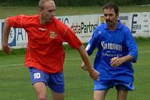 Do Rakouska odešel jako útočník - střelec, vrátil se jako stoper: Jarda Havlíček ale nezamířil do Mladého, nýbrž do Borovan, kde vyztužil defenzivu.