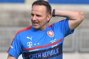 Karel Krejčí povede v pátek české fotbalisty do 21 let v Č. Budějovicích v kvalifikaci ME proti Litvě.