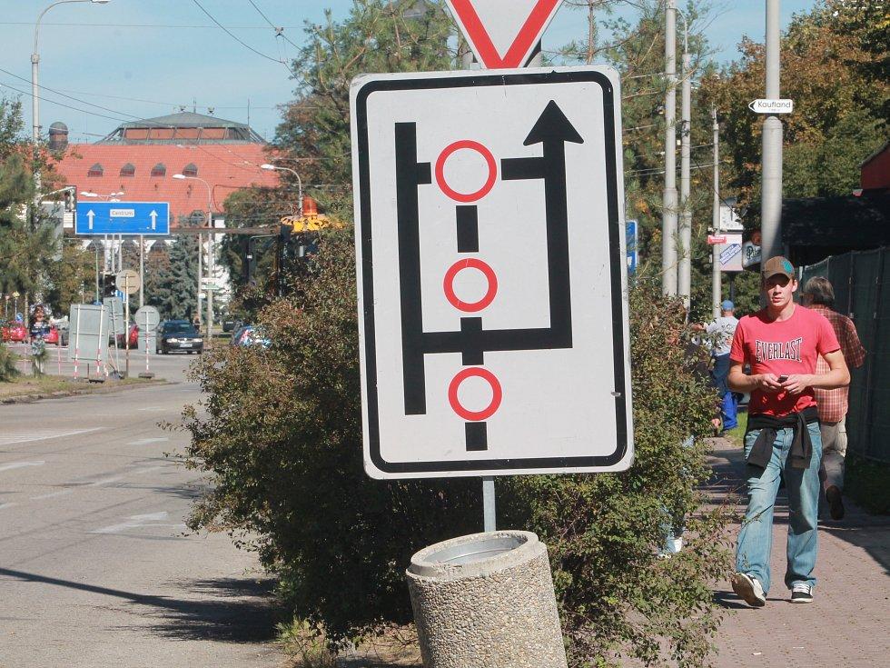 Uzavírka Lidické ulice