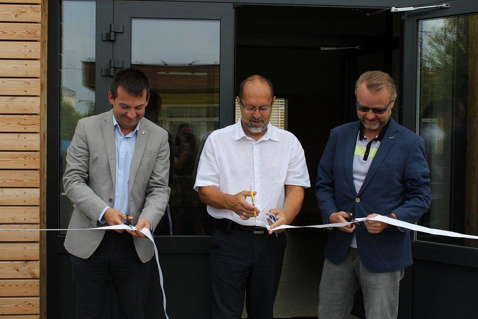 Šestadevadesát míst má nyní budějovická školka v Železničářské ulici díky novému pavilonu.Foto: Město České Budějovice