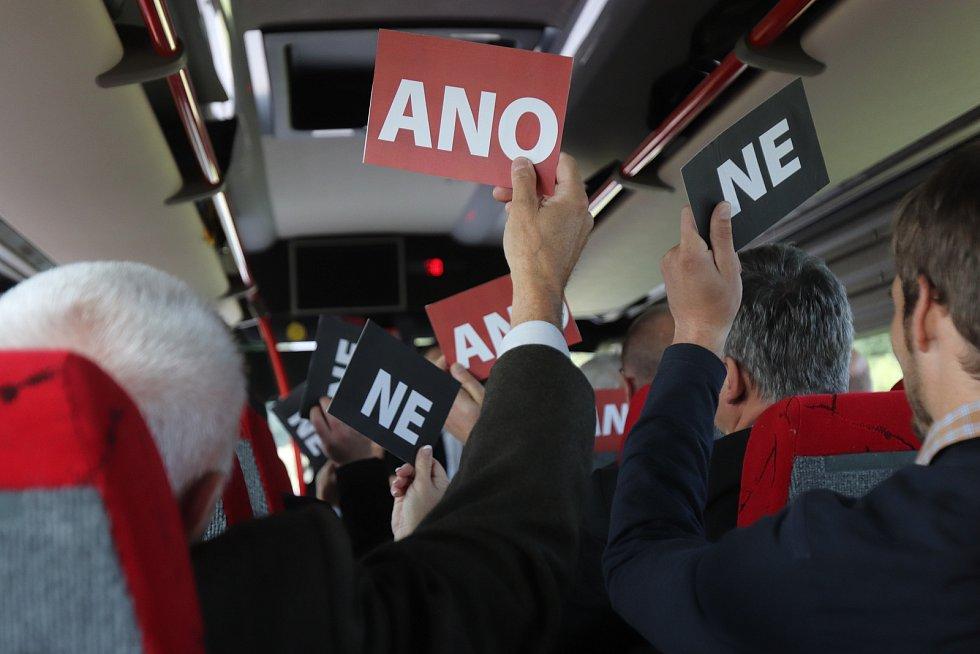Politici na kolech 2017.