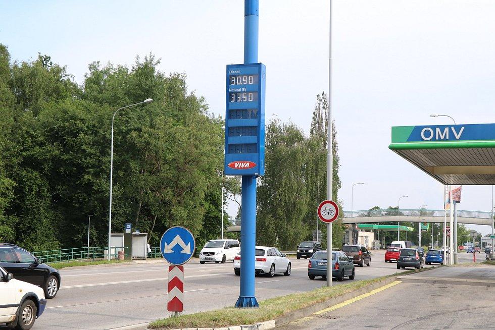 Pumpy a jejich ceny v Českých Budějovicích,OMV Dlouhá louka