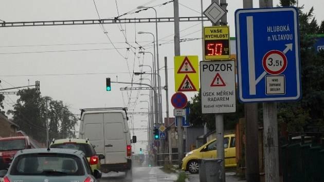 Radar v Nemanicích.