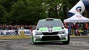 Na Výstavišti odstartovala Rallye Český Krumlov