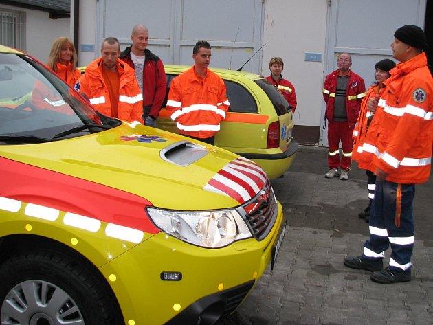 Nové vozy záchranné služby pro systém rendez - vous.