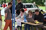 Netradiční závod se jel v sobotu mezi Zlatou Korunou a Boršovem nad Vltavou.