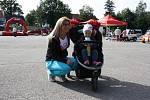 Den čisté mobility na náplavce v Českých Budějovicích bavil děti i dospělé.