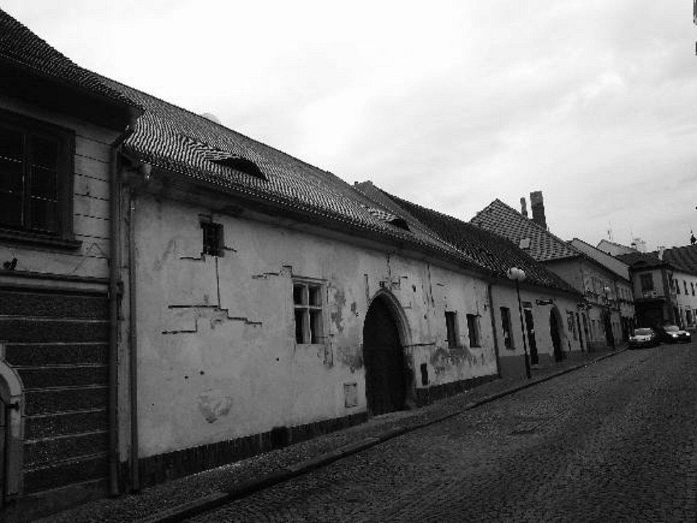 Dům v Horažďovicích, Havlíčkova ul. 47 – stav v létě 2012. Tato nemovitost se v majetku Haanů z Löwenbergu nalézala do roku 1906 v mužské, resp. do počátku první světové války v ženské linii.