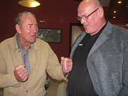 Judista Vladimír Kocman s boxerem Josefem Němcem