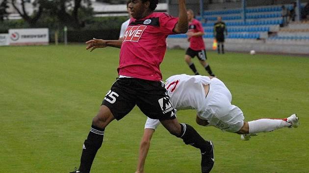 Brazilec Jose Sandro se proti St. Florianu představil v dobrém světle.