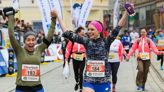 Ilustrační snímek z Dunajského maratonu.