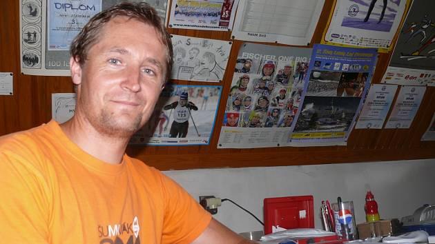 Ředitel maratonu Petr Steinbach