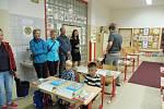 První školní den v ZŠ Máj I v Českých Budějovicích.