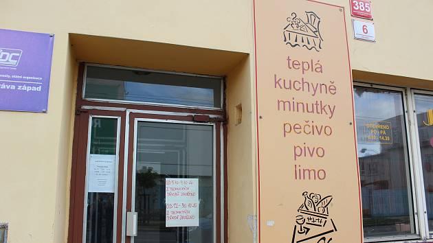 Stravovací zařízení v českobudějovické Průmyslové ulici je zavřené.