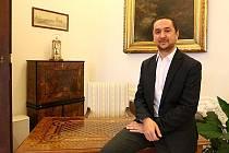 V primátorské pracovně na českobudějovické radnici strávil Juraj Thoma posledních osm let.