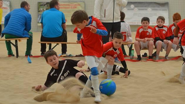 Fotbal na písku ja atraktivní sport