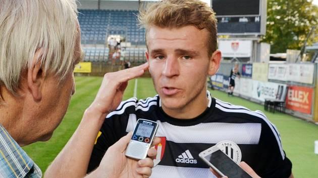 Michal Řezáč po zápase se Žižkovem odpovídá na dotazy Deníku jižní Čechy.